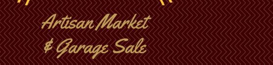 Artisan Market & Garage Sale 2016