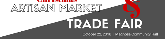 Christmas Artisan/Trade Fair Oct.22