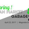 Spring Artisan Market & Garage Sale April 22, 2017