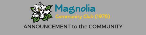 Community Announcement