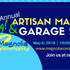 Spring Artisan Market & Garage Sale May 5 2018!