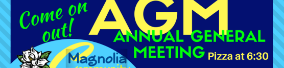 Annual General Meeting! – March 13th 2018