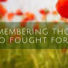 Remembering …