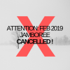 Jamboree Feb 9, 2019 CANCELLED !