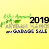 Artisan Market & Garage Sale 2019 on May 4th! Mark your calendar