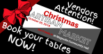 Attention Vendors – Book NOW!