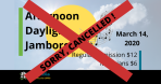 Daylight Jamboree CANCELLED March 14, 2020