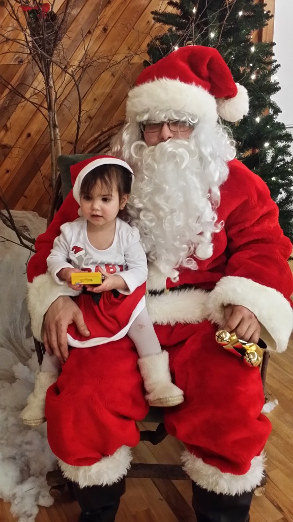 Santa with youngest 02
