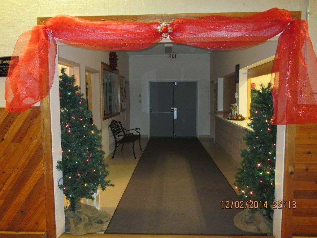 View into entrance PL